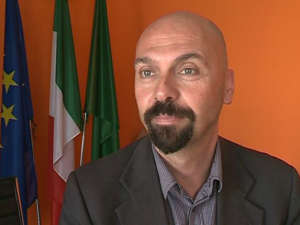 Il sindaco di Cantù Claudio Bizzozero