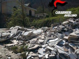 Avellino, discarica abusiva di rifiuti scoperta grazie a indagini e videosorveglianza
