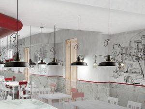 La pizzeria Trianon da Forcella a Sorrento: apertura nella città costiera