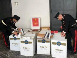 Fermato con 90 chili di sigarette di contrabbando in auto: ne aveva altri 290 nel box
