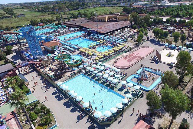 I sei parchi acquatici della Campania dove divertirsi in estate
