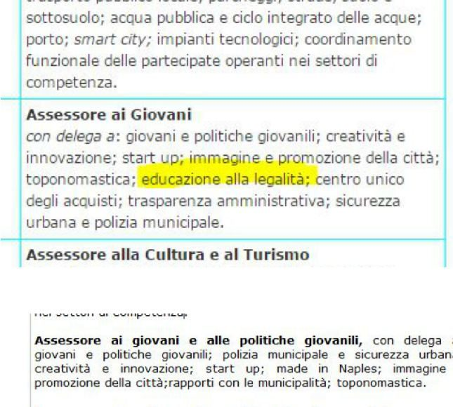 Si dimette l'assessore al bilancio del comune di Napoli, Salvatore Palma