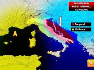 Previsioni Meteo Napoli: caldo torrido, fino a 32 gradi. Giovedì 25 si rinfresca