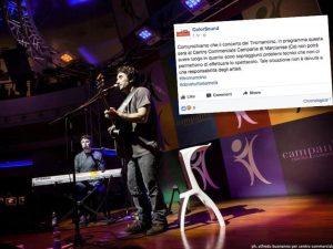 I Tiromancino danno forfait al Centro Commerciale Campania: è scontro sui social