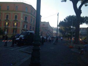 Cittadinanza a Maradona: traffico infernale tra piazza Municipio e piazza Plebiscito
