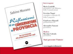 A Palazzo Serra di Cassano il libro di Sabino Morano