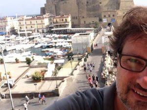 """Leonardo Pieraccioni in visita a Napoli: """"Mi perdo nella sua bellezza"""""""