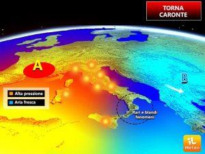 Previsioni Meteo Napoli: dal 31 luglio di nuovo caldo record