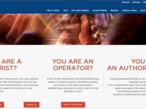 Incampania.com, il sito turistico della Regione Campania è pieno di refusi in inglese