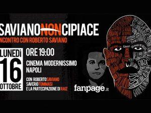 """""""Cosa dicono i napoletani di Saviano?"""": incontro di Fanpage.it con lo scrittore partenopeo"""