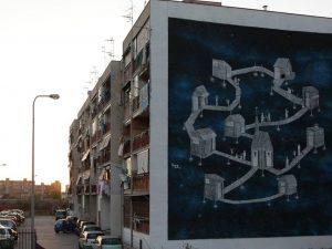 """""""Je sto vicino a te"""", il murales a Ponticelli in omaggio a Pino Daniele"""
