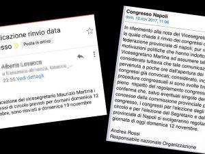 Si vota. No, non si vota. Così il congresso Pd Napoli è diventato l'ennesima barzelletta