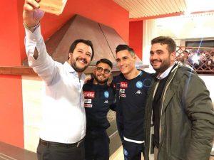 (Foto dalla pagina ufficiale di Matteo Salvini)