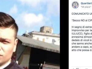 """Quartieri Spagnoli a lutto per Francesco Iuliucci: """"No ai cippi di Sant'Antonio"""""""
