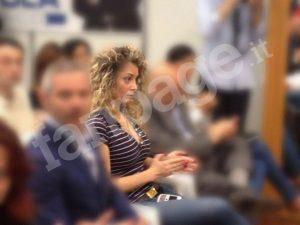 Una immagine di Marta Fascina, la candidata di Forza Italia in Campania