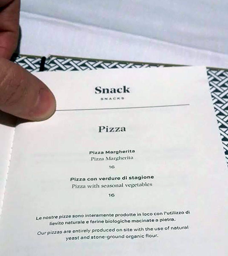 La moda di difendere l'indifendibile, anche la pizza di Cracco