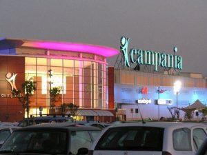 Il centro commerciale Campania di Marcianise