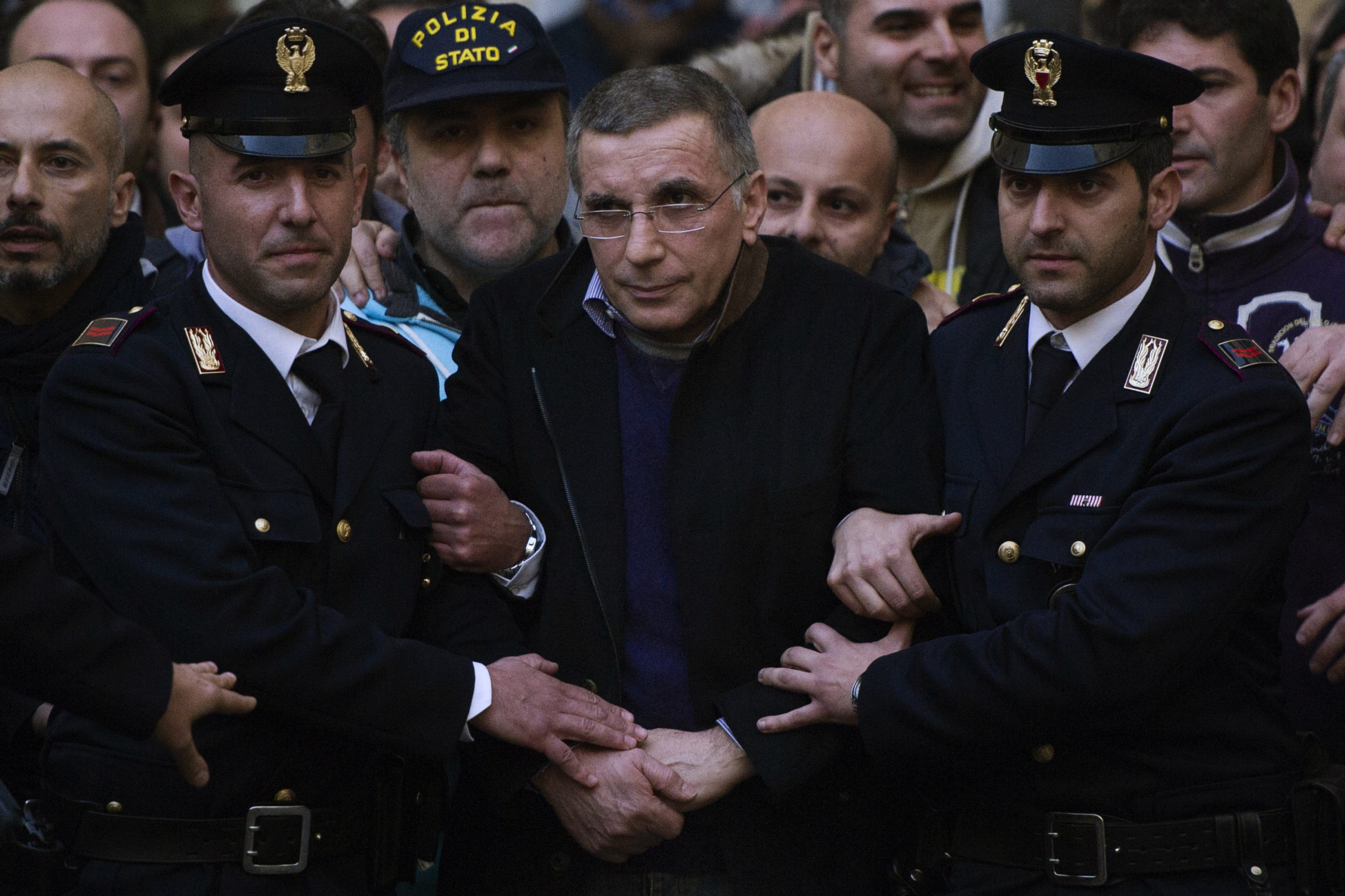 L'arresto di Michele Zagaria nel 2011