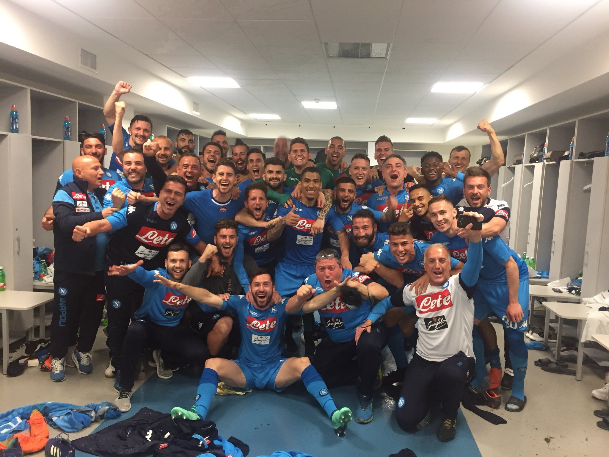Il Napoli chiede alla Lega di giocare Samp-Napoli e Roma-Juventus in contemporanea