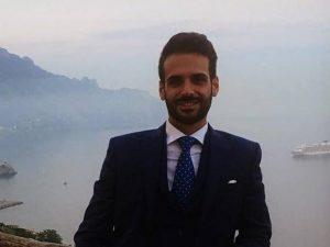 L'avvocato Giampiero Delli Bovi, 29 anni