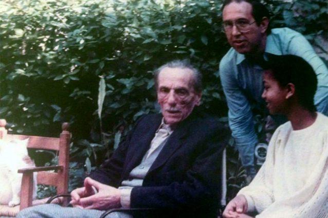 Eduardo De Filippo con Mehret, all'epoca 14enne