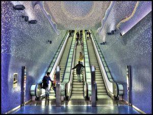 La metropolitana museo, un luogo di meraviglie