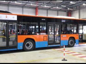 I nuovi autobus Anm