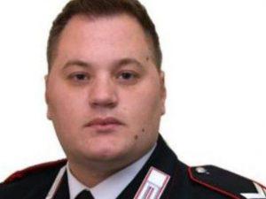 Emanuele Reali, 34 anni, il vice–brigadiere investito da un treno a Caserta mentre inseguiva un ladro. [Foto da Facebook, Pagina ufficiale @Carabinieri]