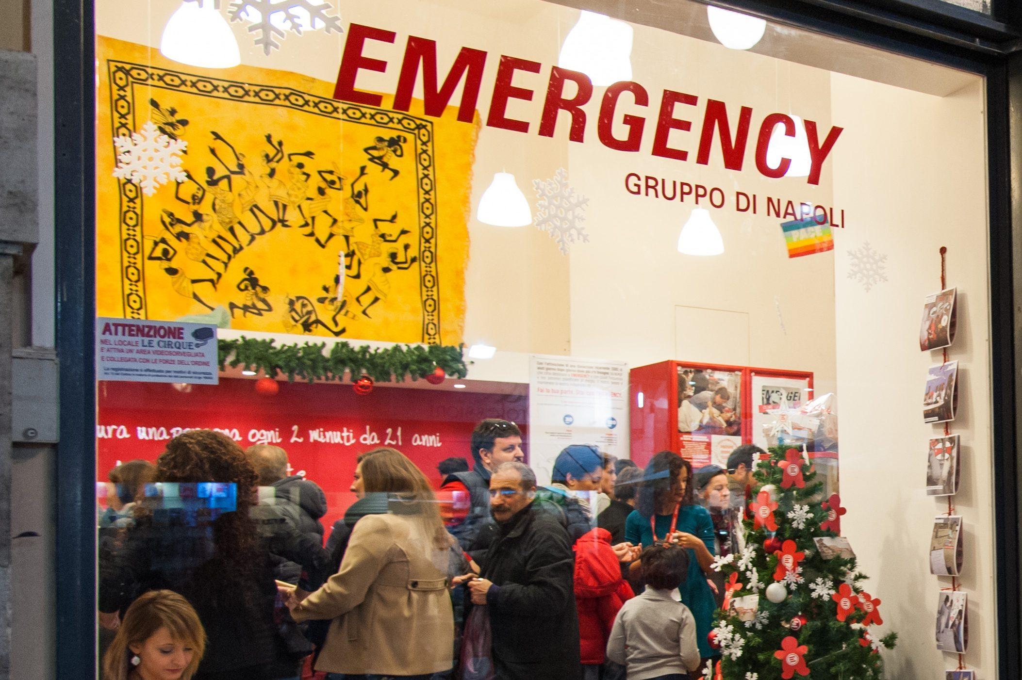 Emergency Regali Di Natale.Natale 2018 A Palazzo Fondi Apre Lo Shop Di Emergency