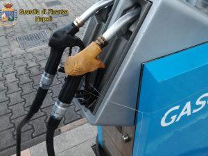 Benzina mischiata con olio e zolfo, sequestrate le colonnine