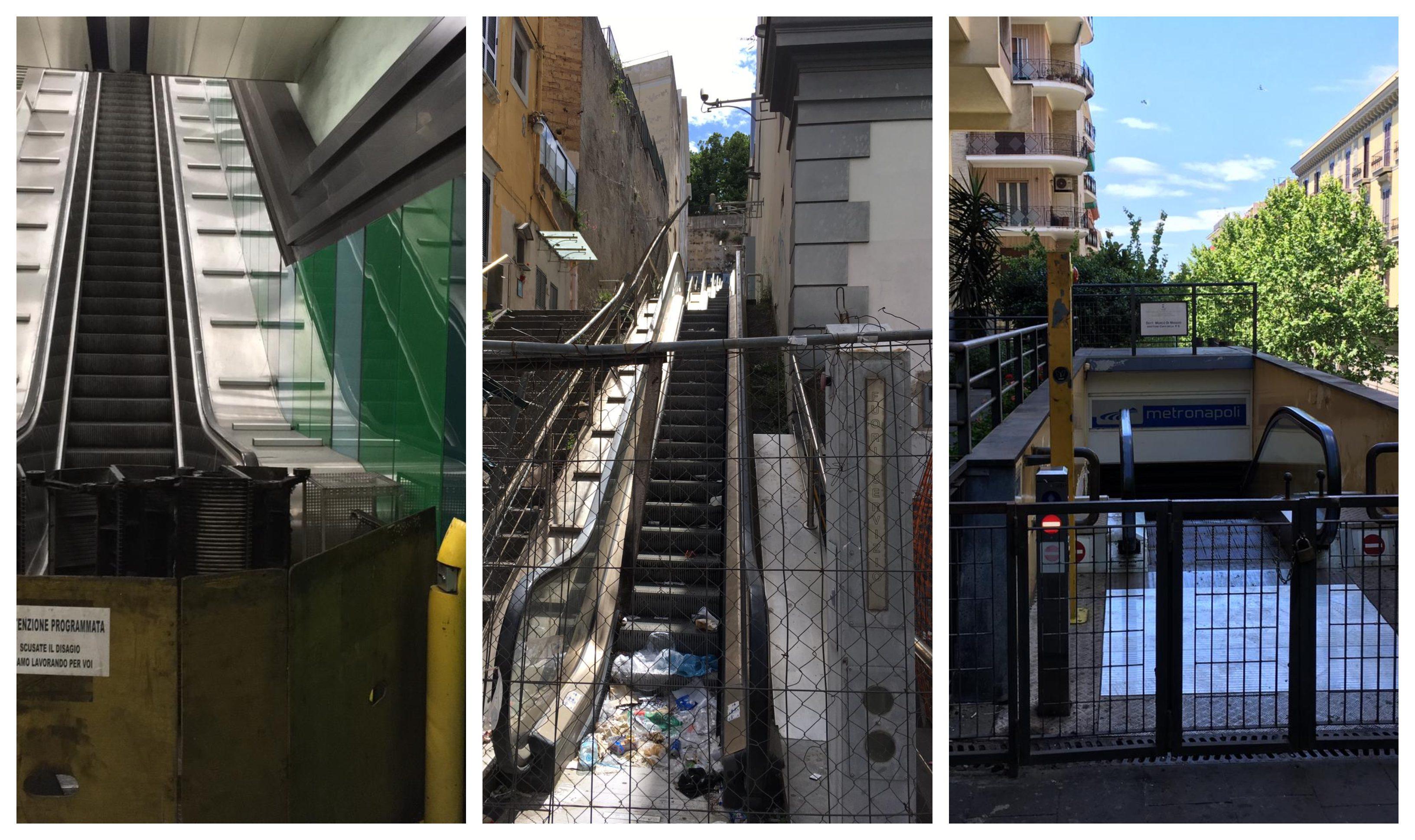 Disastro scale mobili, verso lo smantellamento quelle di ...