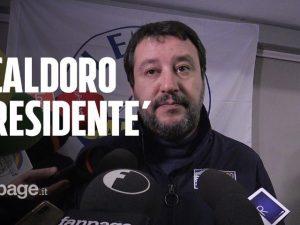"""Elezioni regionali Campania 2020, Salvini """"benedice"""" Caldoro"""