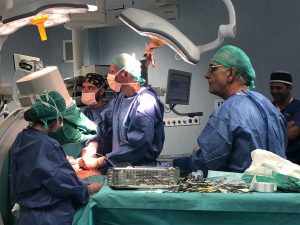 Morbo di Crohn, intervento chirurgico al Policlinico Federic