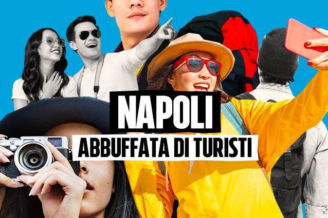 Napoli, la città abbuffata di turisti, cerca l'oro nei Bed a