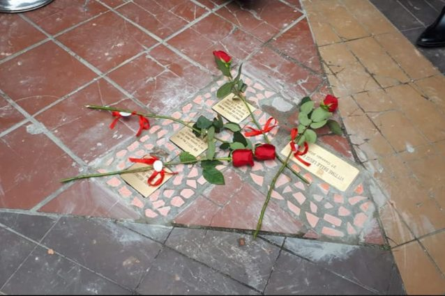 Anche a San Giorgio a Cremano le pietre d'inciampo per ricor