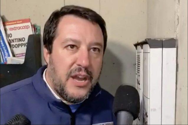 Matteo Salvini a Napoli evita Scampia. Forse perché lì non è