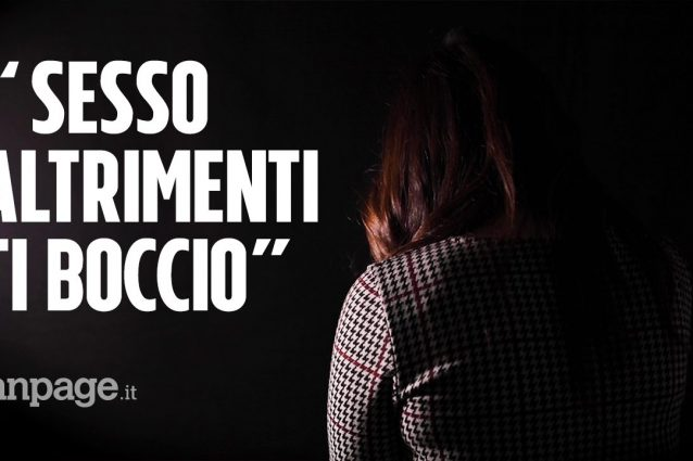 Molestie sessuali all'Accademia di Belle Arti Napoli, il vid