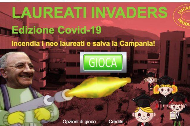 Vincenzo De Luca spara ai laureati col lanciafiamme: un altr
