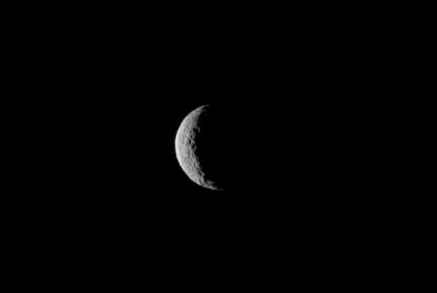 Cerere vista da Dawn nel giorno 1° marzo da una distanza di circa 48.000 chilometri