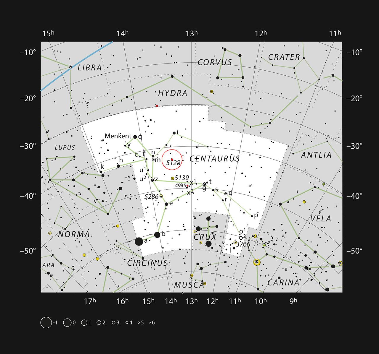 Oscuri ammassi globulari attorno alla galassia Centauro A