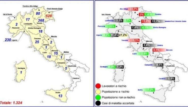 Anche in Italia non mancano i contagi: la malattia di Lyme diffusa in Liguria e in altre regioni