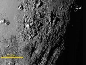 Su Plutone ci sono acqua e montagne, le prime immagini dalla sonda New Horizons