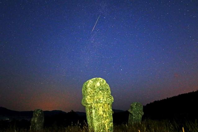 Sito archeologico di Maculje vicino a Novi Travnik in Bosnia.