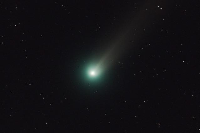 La cometa Lovejoy ha una scia di alcol
