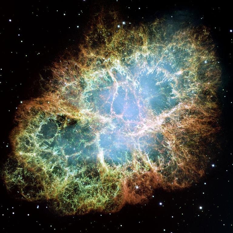 """La Nebulosa Granchio in uno """"scatto"""" di Hubble"""