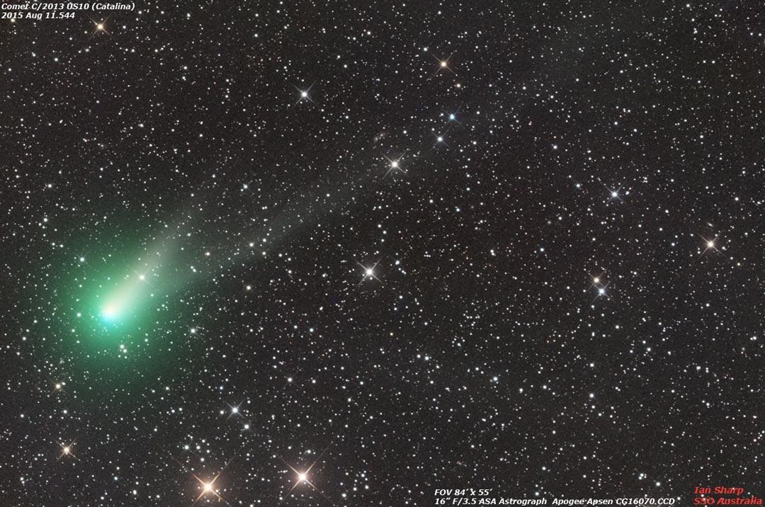 Ecco Catalina, la cometa di Natale