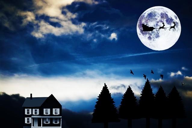 Natale con la Luna piena