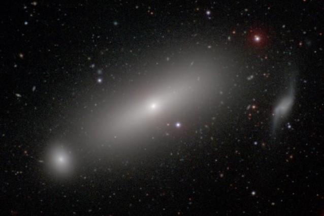La galassia NGC 1332 al cui interno si trova il buco nero di cui è stata misurata la massa (Carnegie–Irvine Galaxy Survey)