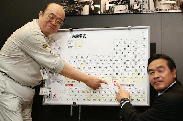 Finalmente i nomi dei quattro nuovi elementi della tavola periodica - Elementi della tavola periodica ...