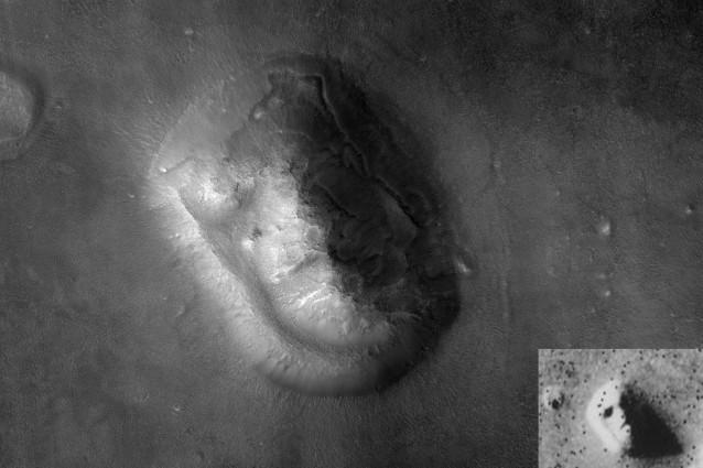 volto di Marte